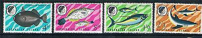 Ascension 1968 Fishes 1st Series SG113-6 MNH