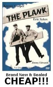 THE-PLANK-DVD-Eric-Sykes-Tommy-Cooper-New-Sealed-ALL-Region-incl-4-Comedy