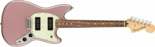 Fender Electric Guitar Player Mustang 90 Pau Ferro Burgundy Mist Metallic