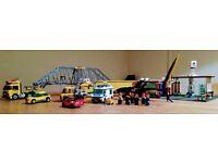 Lego - used sets and 2 kilos of loose bricks