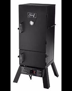 Master Chef Vertical 2 Door Propane Smoker