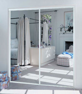 5 Set of Mirror Closet Doors