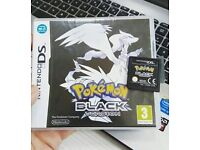 Pokemon black version game for Nintendo ds