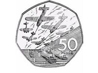 Rare Collectible 50p Coin - 50th Anniversary of the D-Day Landings (1994)