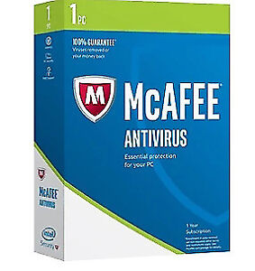 McAfee Anti Virus 2017 - brand new in sealed box