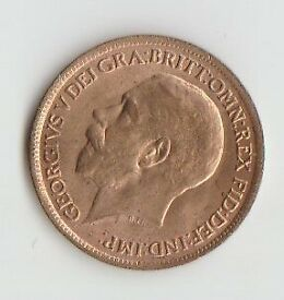 I have a farthing dated 1918, almost in mint condition