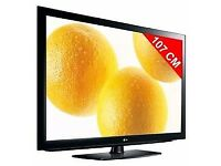 42 INCH LG FULL HD LCD TV WITH BUILT IN FREEVIEW ##CAN BE DELIVERED##