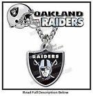 Oakland Raiders Necklace