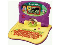 VTech Dora the Explorer Carnival Time Laptop/Computer Educational Baby Toy