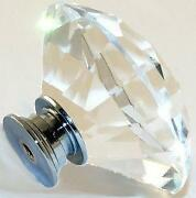 Glass Door Knobs 60mm