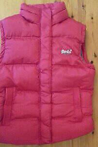 Ladies Super Dry Puffa Gillette Coat with removable Cotton Hood in new excellent condition.