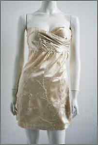 Moschino silk beaded dress, size XS, brand new