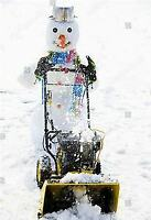 St. Albert  Residential Snow Removal Great Rates!