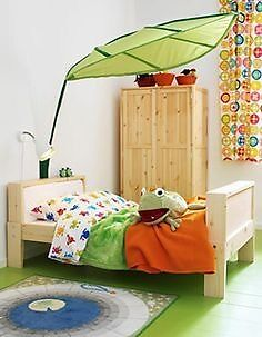 Ikea L 214 Va Lova Green Leaf Children S Bed Canopy Brand