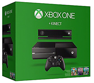 Xbox One + Kinect + 1 Controller + 2 Games