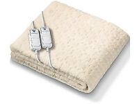 Brand new Monogram by Beurer Komfort Soft & Fleecy Eletric Blanket