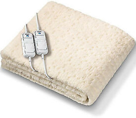 2x Brand new Monogram by Beurer Komfort Soft & Fleecy Eletric Blanket