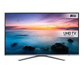 "Samsung 55"" 4k ultraHD smart LED Tv wi-fi warranty boxed"