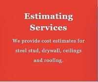 Drywall Estimating & Construction Management Services