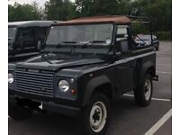 Soft-top cover for Land Rover Defender - used once