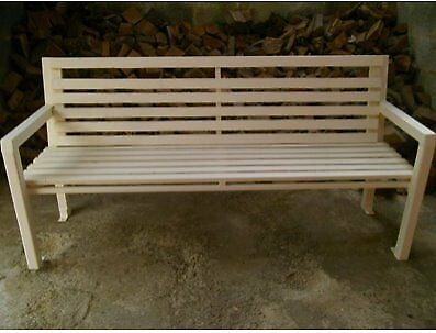 Brilliant Huge 3 Seater Garden Park Bench In Bradford West Yorkshire Gumtree Customarchery Wood Chair Design Ideas Customarcherynet