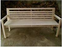 Huge 3 seater garden / park bench