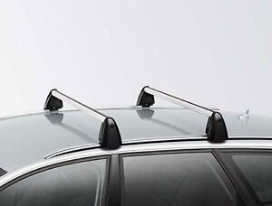 Genuine Audi A3 Sportback Roof Bars With Roof Rails 2003 2012 Ebay