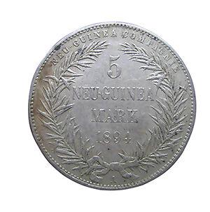 Münzen aus Neuguinea - stille Zeitzeugen der deutschen Kolonialzeit