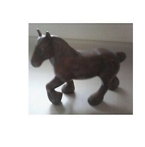 Clydesdale Ceramic Horse