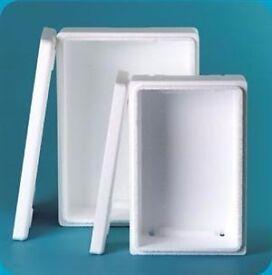 Polystyrene boxes