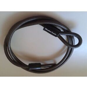 Master Lock 6 ft Steel Cable Bike Lock