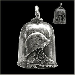 105TH ANNIVERSARY GUARDIAN BELL WITH CUSTOM GIFT BOX HARLEY BIKER BELL RIDE TO LIVE