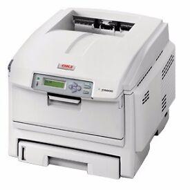 OKI C5600 Colour Laser Printer + DRUM and Toner
