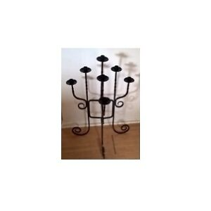 Wrought Iron Candle Holder ( Floor Stand )