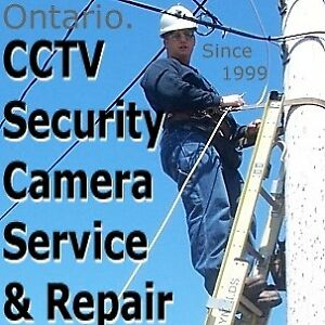 CCTV Security Camera Service & Repair.