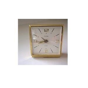 Vintage 1940's Florn Wind-Up Alarm Clock / Desk Clock