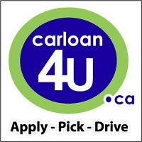 carloan4U.ca - Apply Online - Pick A Car - Drive Today.