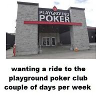 ride to playground poker