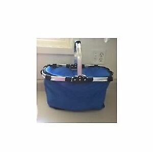 Collapsible Folding Insulated Picnic Cooler Basket