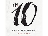 Senior Sous Chef required for a busy, award-winning West End restaurant
