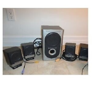 Altec Lansing Speakers and Subwoofer in Great Condition!