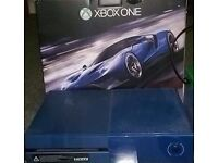 XBOX ONE 1TB - 2 GAMES - HEADSET - PLAY N CHARGE KIT - ALL BOXED