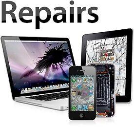 SAME DAY Repair iPhone X 8 7 6 SE 11 XR iPad Glass Screen Laptop PC Huawei Samsung PS4 XBOX iRepair