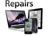 Low Cost Repairs iPhone 7 6s 6 5C iPad Sony LG Cracked Glass Screen iRepair Telecom PC Shop Glasgow