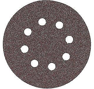 Bosch Sr5r240 5 240 Grit 8-hole Hook Loop Sanding Discs 5 Pk
