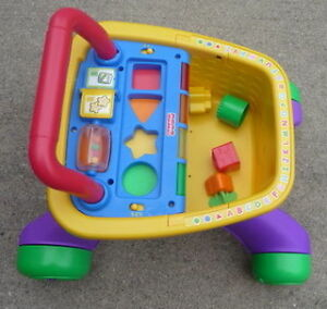 Fisher Price Laugh And Learn Shopping Cart and Walker
