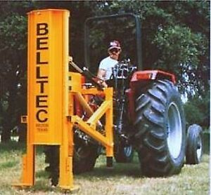 Belltec Post Hole Digger for Tractor 3-Point Hitch