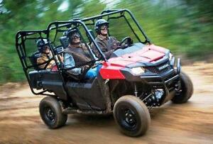 HONDA / CAN AM RENTAL ATVS & UTVS BY THE DAY WEEK MONTH