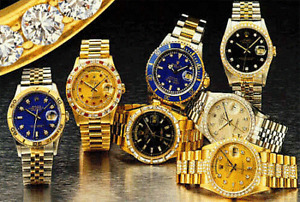 ACHETONS DES MONTRES.......WE BUY WATCHES, jewelry, gold, or, $$