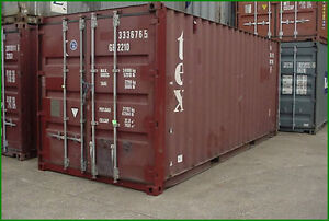 Used 20' Storage Container